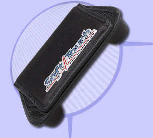 SoftTouch: Advanced seatbelt protection for defibrillator, pacemaker, chemotherapy port, and other medical implant patients.
